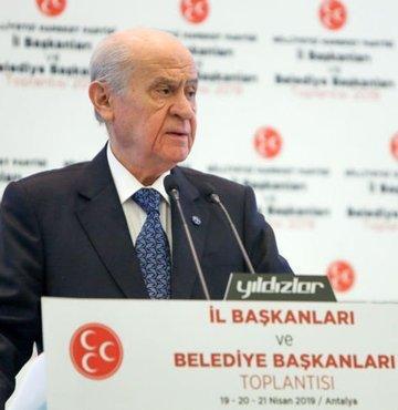 MHP lideri Devlet Bahçeli, AK Parti ve MHP