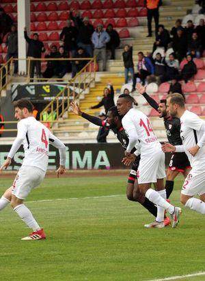 Boluspor: 1 - Gazişehir Gaziantep: 0 | MAÇ SONUCU
