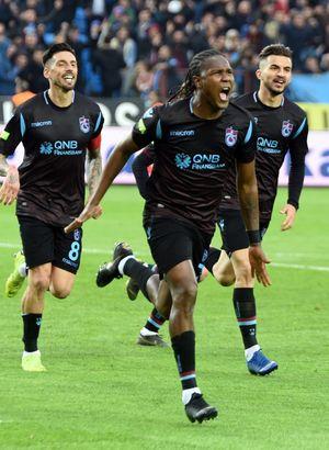 Hugo Rodallega, kariyerinin en gollü dönemini Trabzonspor'da yaşıyor