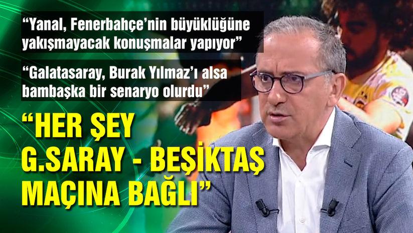 """Her şey G.Saray-Beşiktaş maçına bağlı"""