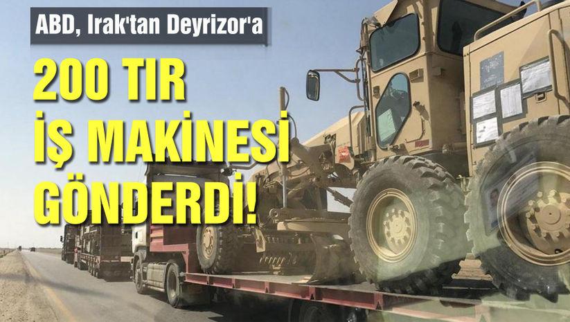 ABDden PKK/PYDye 200 TIR sevkiyat!