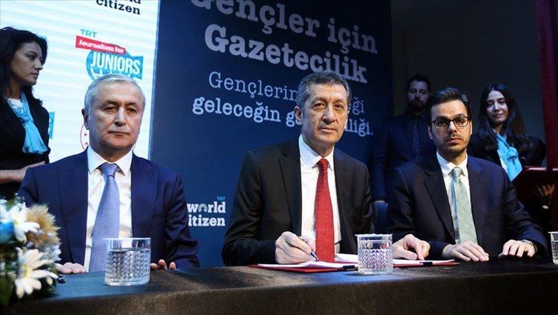 MEB-TRT iş birliğiyle lise öğrencilerine gazetecilik eğitimleri