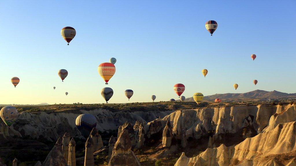 Kapadokya'da doluluk yüzde 100'e yaklaştı