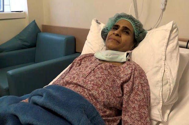 Karaciğer hastası Suriyeliler şifayı Türkiye'de buldu