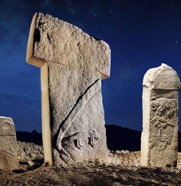 12 bin yaşındaki Göbeklitepe'de çocuklardan konser