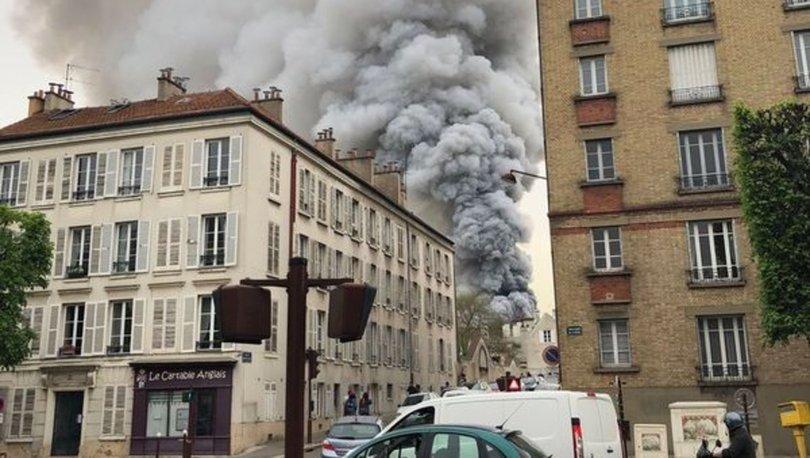 Paris'te yine yangın paniği