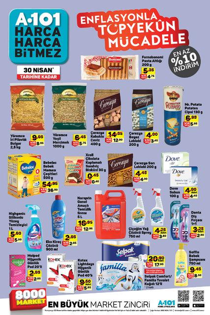 A101 20-26 Nisan Aktüel ürünler kataloğu! İşte A101'de satışta olan kampanyalı ürünler?