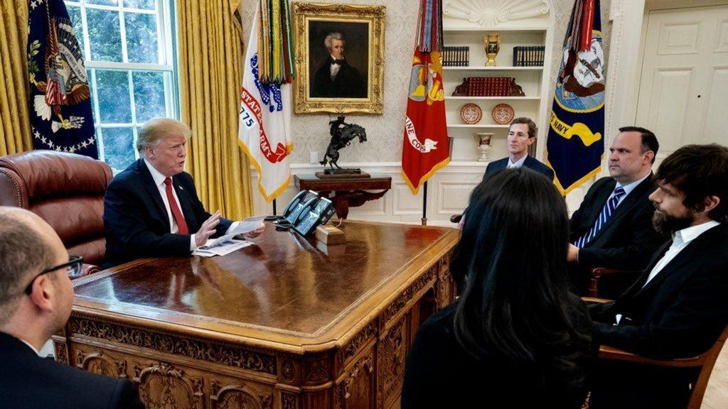 Beyaz Saray'da 'Anlat bakalım Twitter!' toplantısı