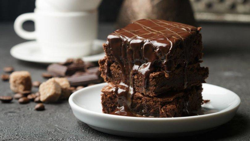 Çikolatalı ıslak kek