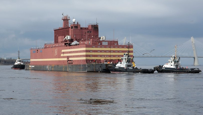 yüzer nükleer güç santrali