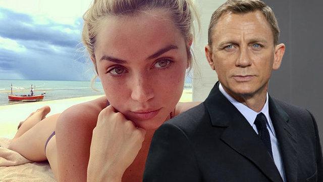 """Yeni """"Bond kızı"""" Ana De Armas seçildi - Magazin haberleri"""