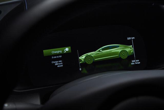 Aston Martin'in ilk elektriklisi üretime hazır