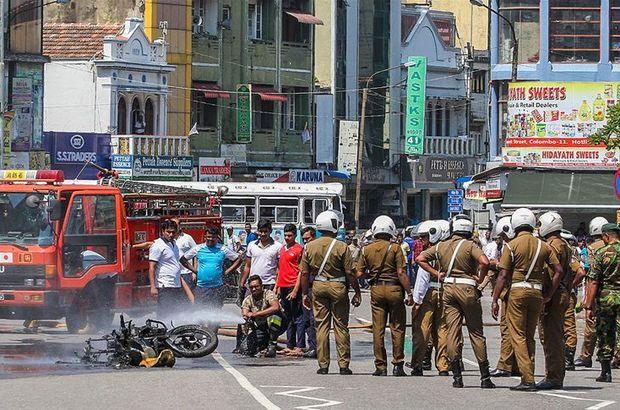 Sri Lanka'da polis bir eve baskın düzenledi: 6'sı çocuk 15 ölü