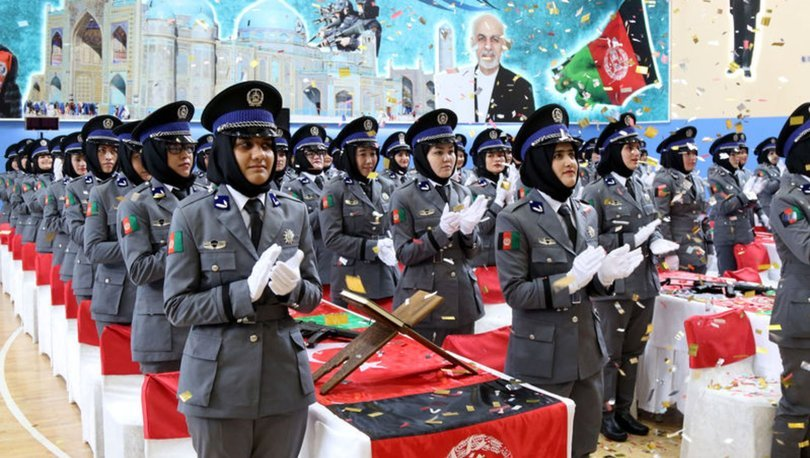 afgan kadın polisler