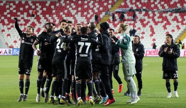 Beşiktaş'ın Ankaragücü ilk 11'i!