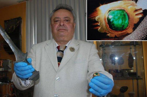 Paha biçilemeyen Büyük İskender yüzüğü