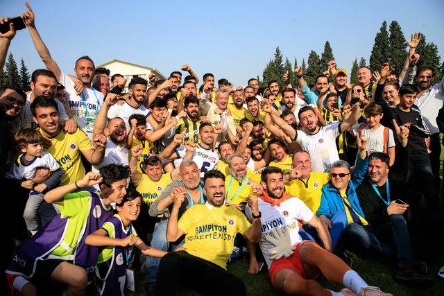 Menemen Belediyespor'da büyük sevinç