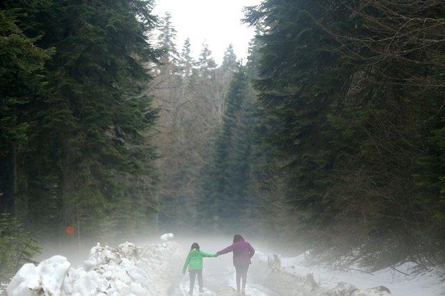 Batı Karadeniz yaylalarında iki mevsim güzelliği