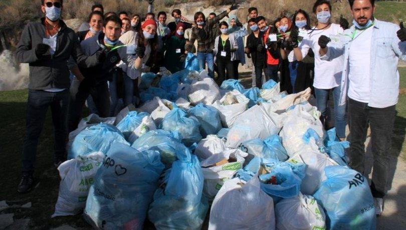 Muradiye'de çöp toplama kapmanyası