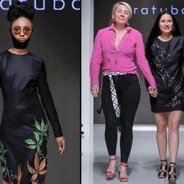 Dubai'de moda şov...