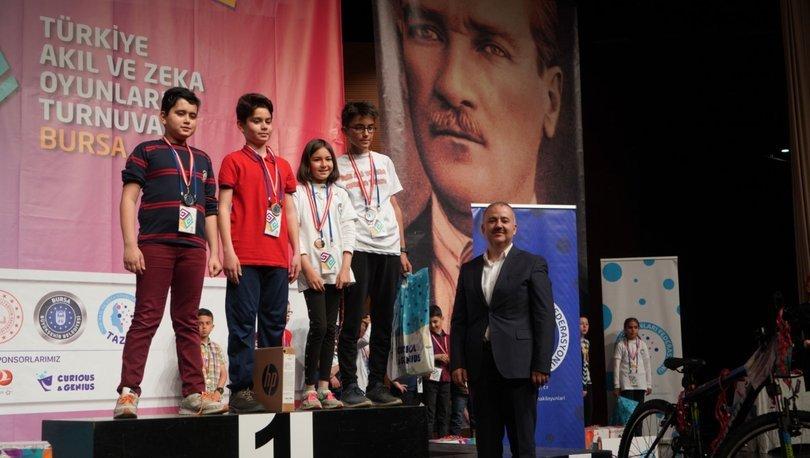 Türkiye'nin akıl ve zeka şampiyonları belli oldu!