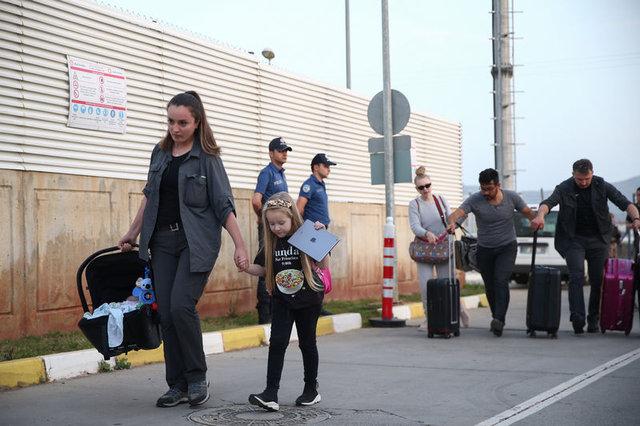 Josef Sural'ın eşi ve çocukları Alanya'dan ayrıldı