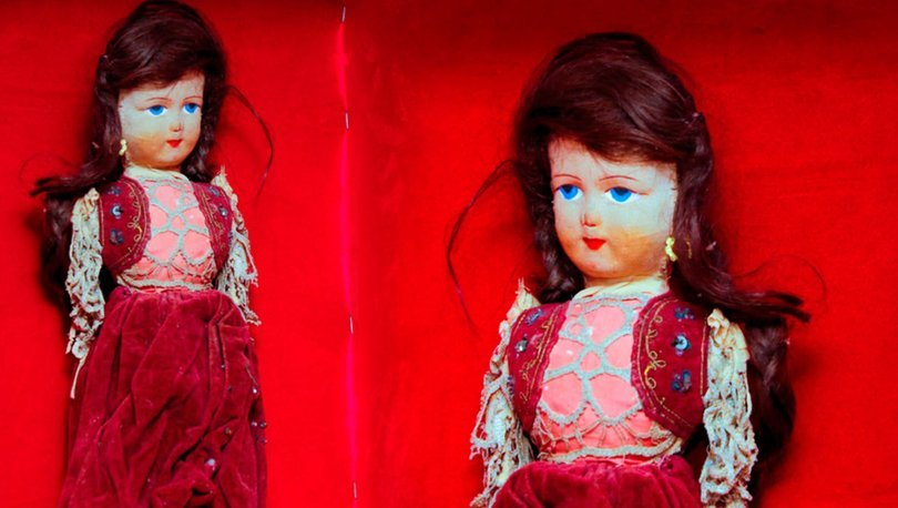 Antalya'da soykırım kurbanı kız çocuğunun saçları bez bebekte