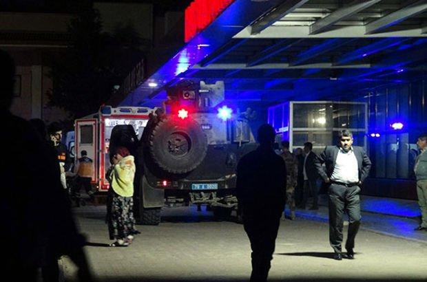 TSK ve ÖSO unsurlarına teröristlerden saldırı