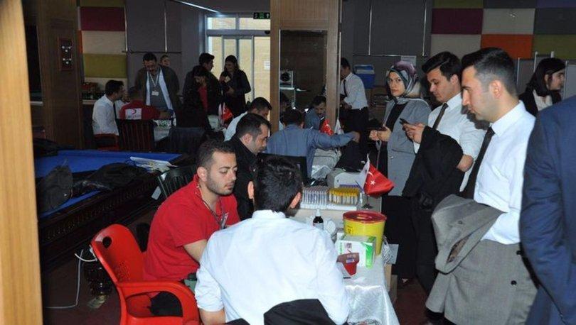 Hakim ve savcı adaylarından kan bağışı kampanyasına destek