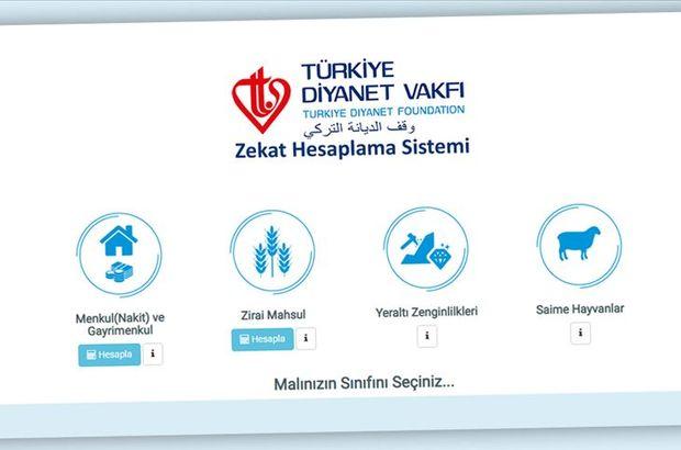 TDV'den Zekat Hesaplama sistemi