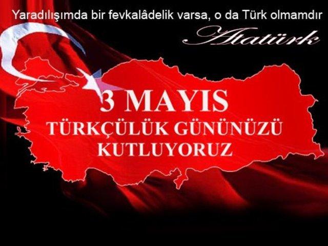 3 Mayıs Türkçülük Günü mesajları 2019! En özel resimli Türkçülük Günü  sözleri | Gündem Haberleri