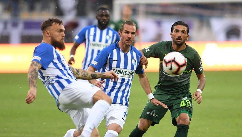 Erzurumspor: 2 - Bursaspor: 0