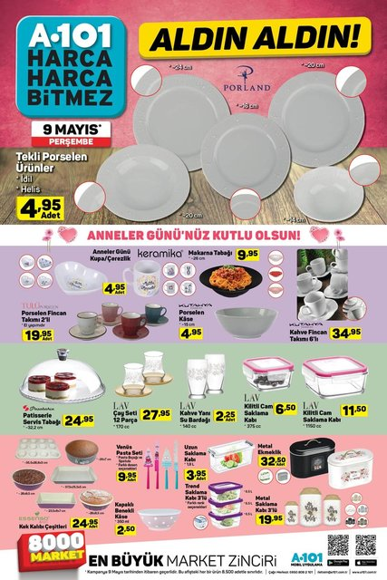 A101 9 Mayıs aktüel ürünler kataloğu! A101'de Ramazan'a özel elektronik ürünlerinde büyük kampanya!