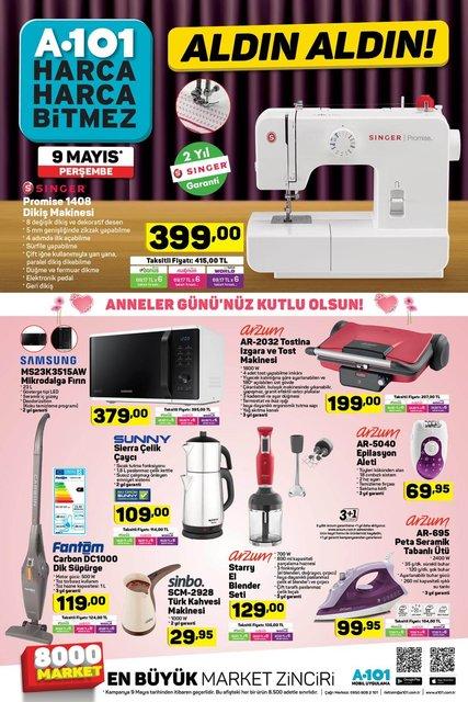 A101 9 Mayıs aktüel ürünler kataloğu! A101'de yarına özel Samsung J4 Plus geliyor!