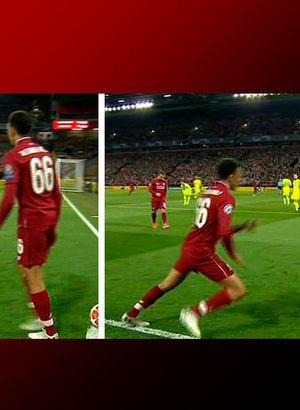 Arnold, Barcelona savunmasını uyuttu! Finali getiren gol böyle geldi...