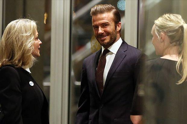 Beckham'a ceza getiren telefon!
