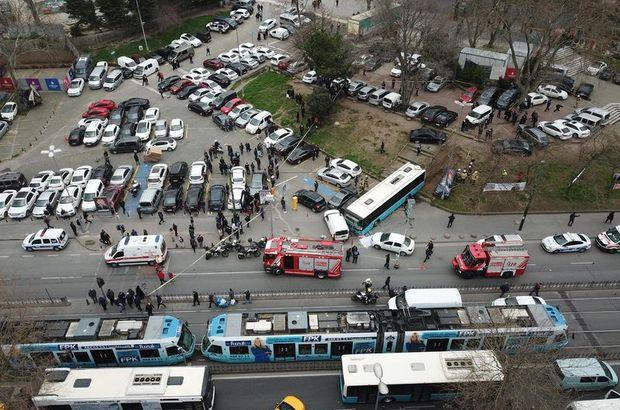 Akıllara zarar bir kaza: Bilinçli mi, refleks mi anlaşılamadı