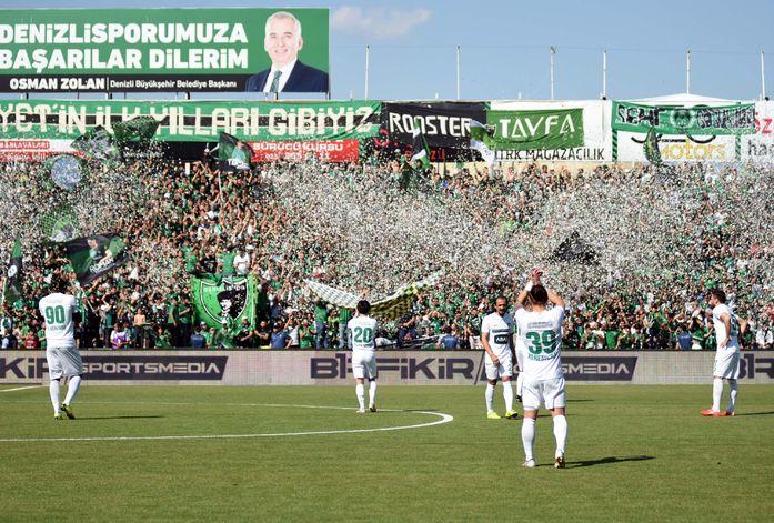 Gençlerbirliği ve Denizlispor Süper Lig'e yükseldi. ile ilgili görsel sonucu