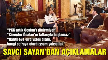 Ağrı Belediye Başkanı Savcı Sayan'dan açıklamalar