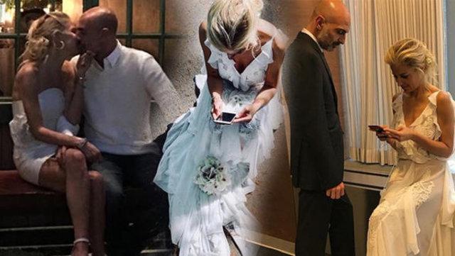 Burcu Esmersoy, Berk Suyabatmaz ile evlilik yıldönümünü kutladı- Magazin haberleri