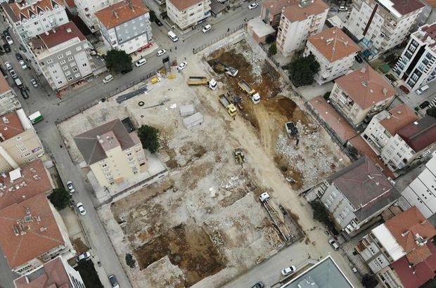 8 bina yerle bir olmuştu! Hızla dönüştü!