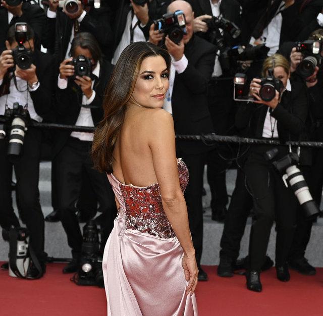 72. Cannes Film Festivali kırmızı halısından görüntüler