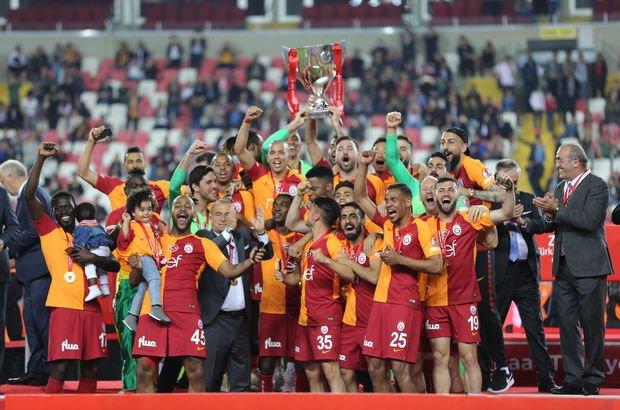 Galatasaray, Türkiye Kupası'nda şampiyon