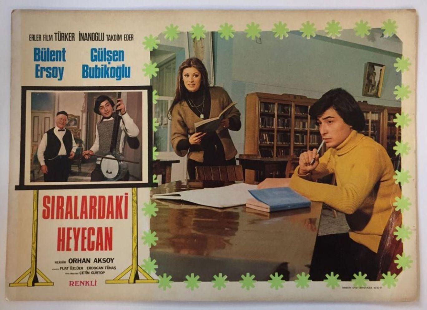 Gülşen Bubikoğlu, Bülent Ersoy ile 'Sıralardaki Heyecan' (1976),'Ölmeyen Şarkı' (1977) ve 'İşte Bizim Hikayemiz' (1978) adlı sinema filmlerinde başrolü paylaştı.