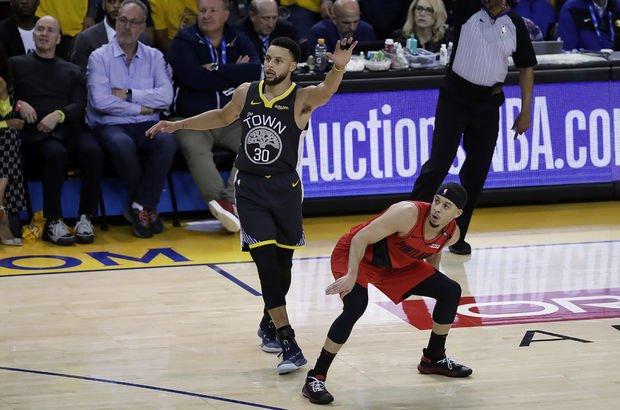 Warriors, seride 2-0 öne geçti