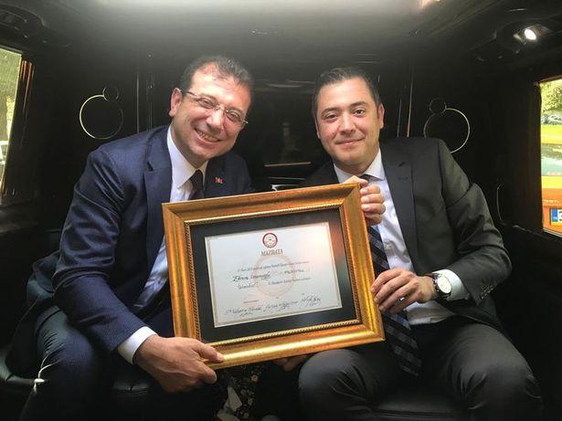 Ekrem İmamoğlu ve Murat Ongun