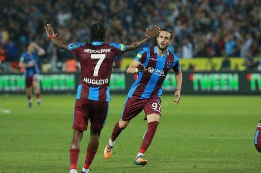 Trabzonspor: 2 - Beşiktaş: 1   MAÇ SONUCU - MAÇ ÖZETİ