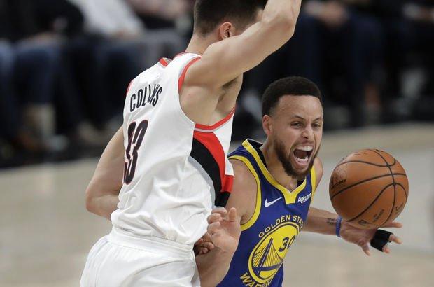 Warriors finalden bir galibiyet uzakta