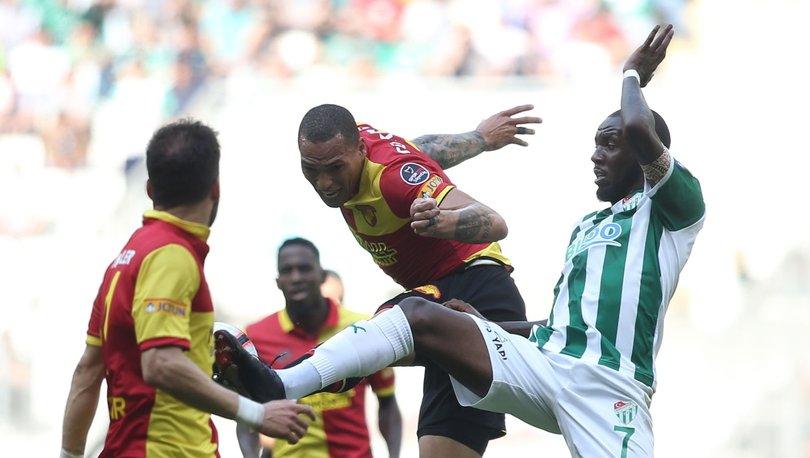 Bursaspor Göztepe MAÇ SONUCU ve MAÇ ÖZETİ! 2 gol iptal! 1 penaltı kaçtı!