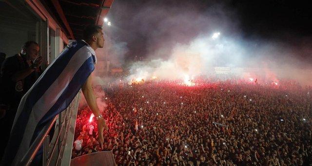 Florya'da müthiş kutlama! Galatasaray'da şampiyonluk kutlamaları